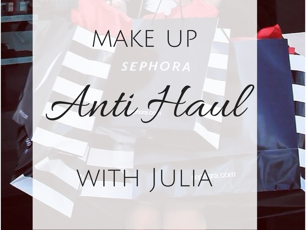 Anti Haul With Julia