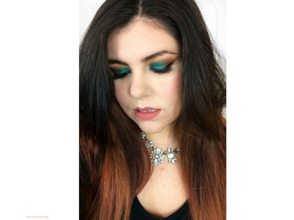 Make Up Swap With Joy | Emerald Arabic Cut Crease #MakeupMonday