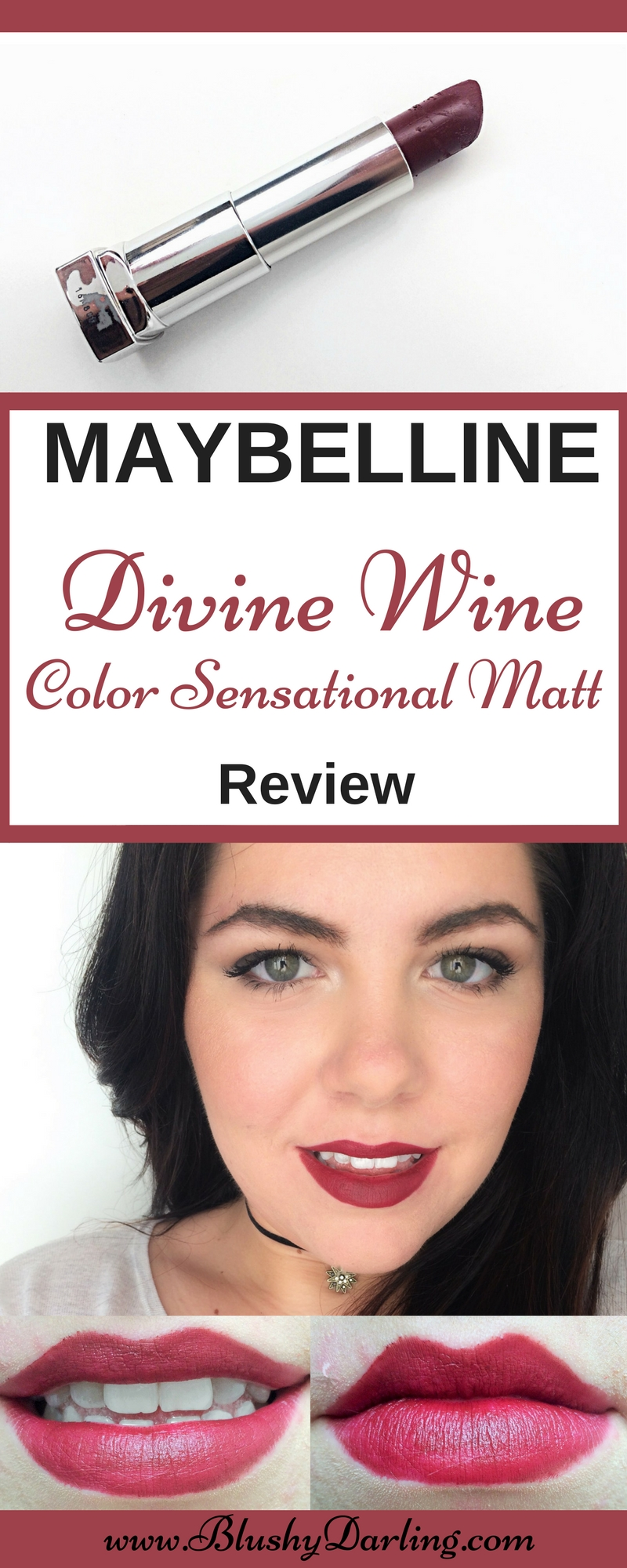 Maybelline Colour Sensational Matte Divine Wine (8)