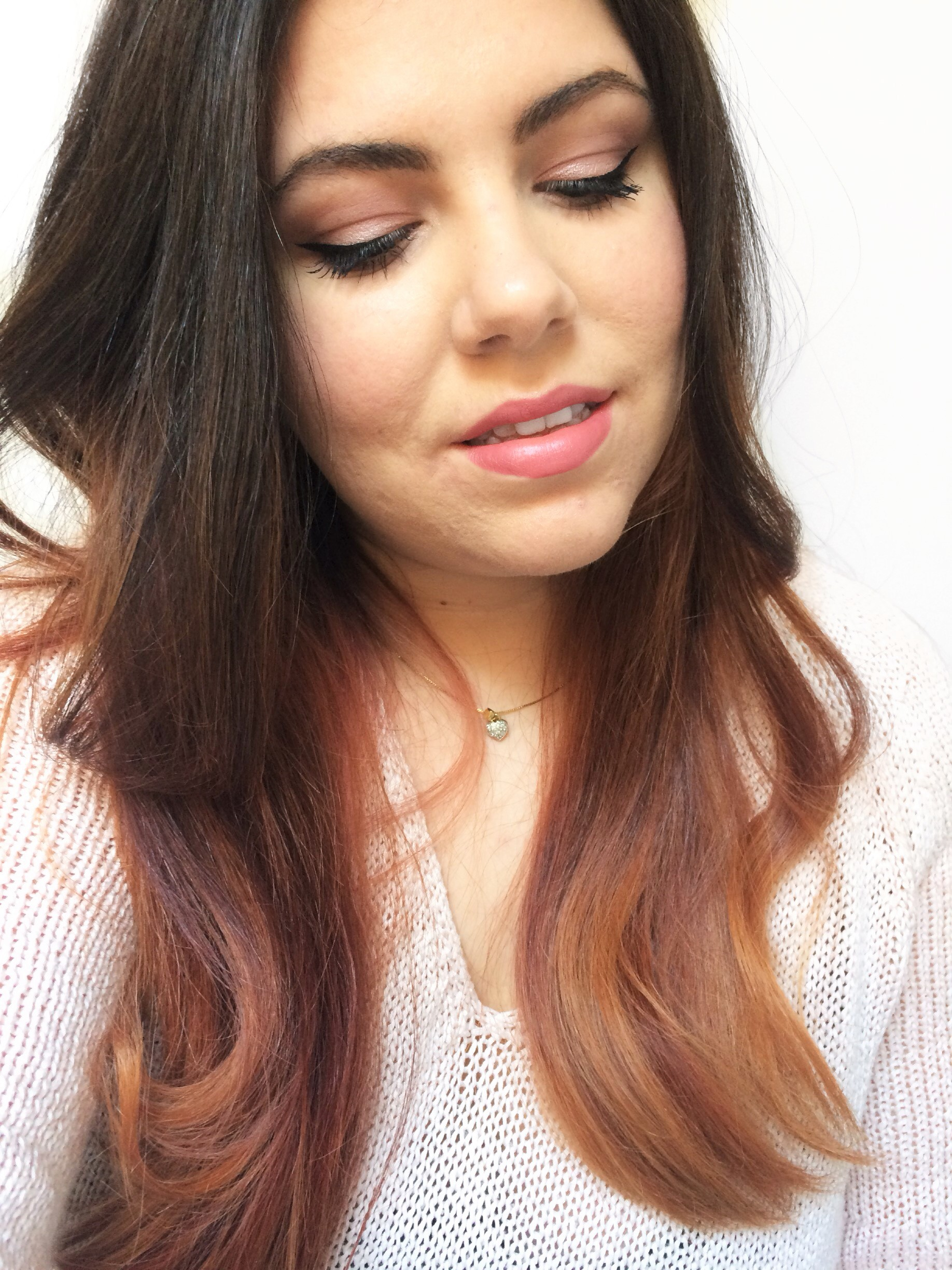 Pretty In Pink Valentine's Day Makeup Tutorial (7)