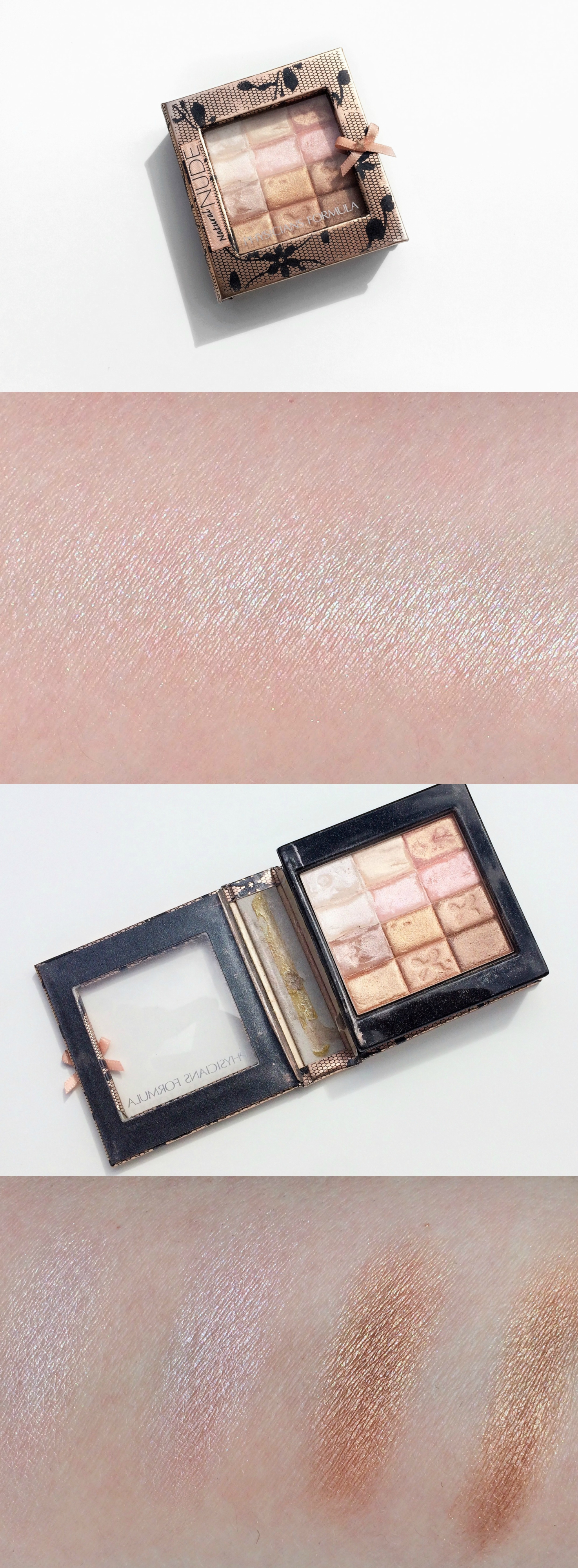 Physicians Formula Natural Nude Shimmer Strips Palette Review