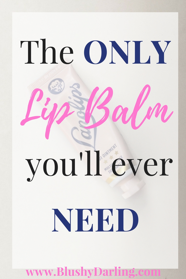 Today #ontheblog I'm sharing my best beauty secret: THIS IS THE ONLY LIP BALM you'll ever need to fight dry and flackey lips