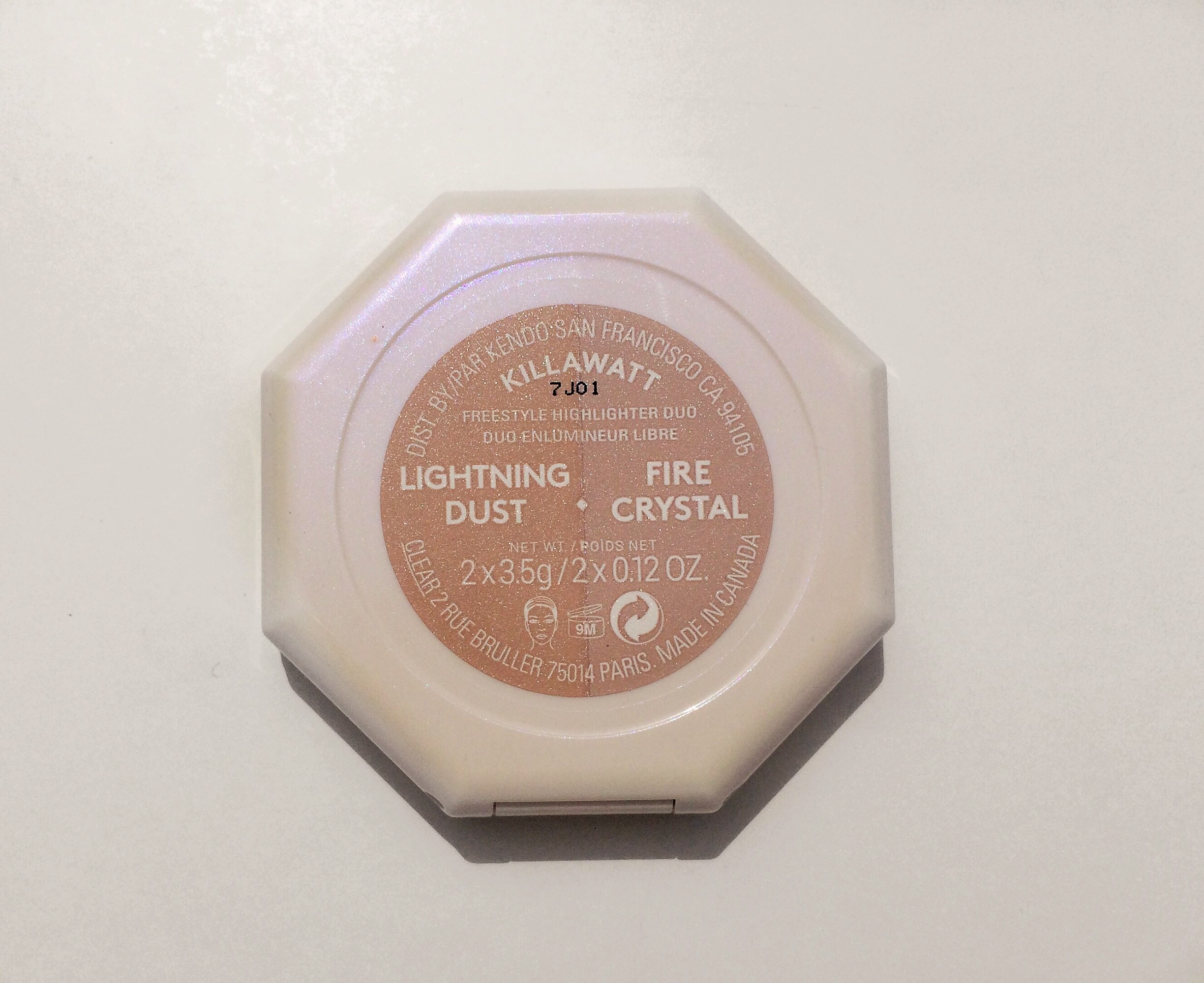 Review Fenty Lightning Dust Fire Crystal Killawatt Freestyle Highlighter Duo (4)