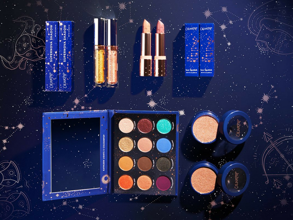 NEW | ColourPop X Kathleen Lights Zodiac Collection