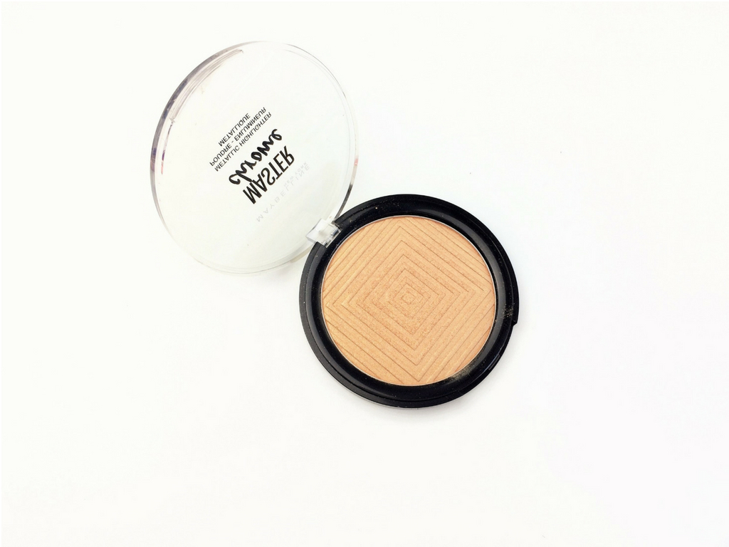 Maybelline Molten Gold Master Chrome Metallic Highlighter | Review