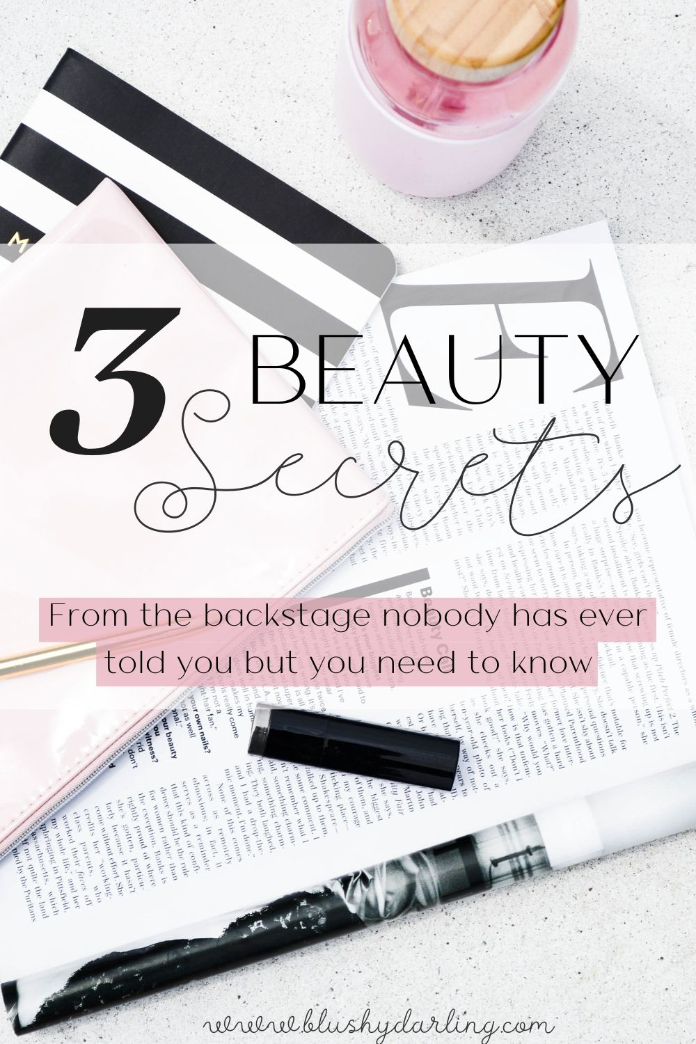 These are my 3 Beauty Secrets from the Backstage that no one has ever told you. How to get rid of blemishes, how to put lipstick on and get rid of dry nose #makeup #beauty #blogger