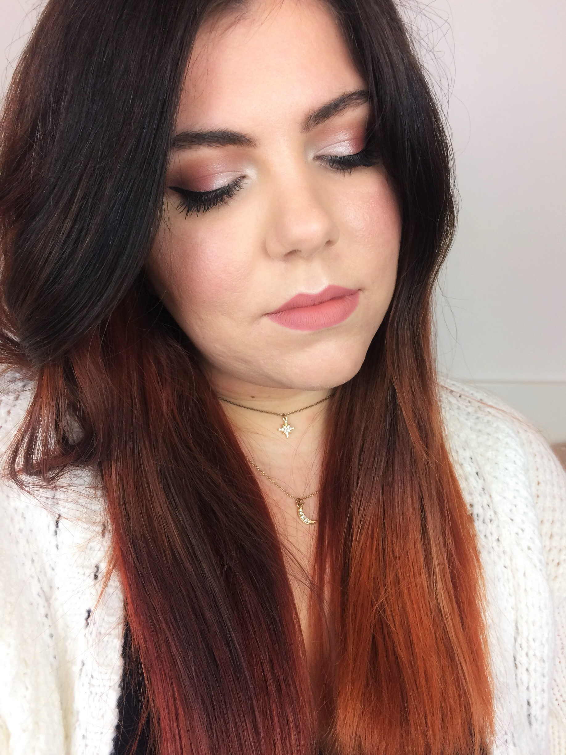 Cool toned smokey eye with a pop of red using the Anastasia Modern Renaissance Palette [Click to read more]