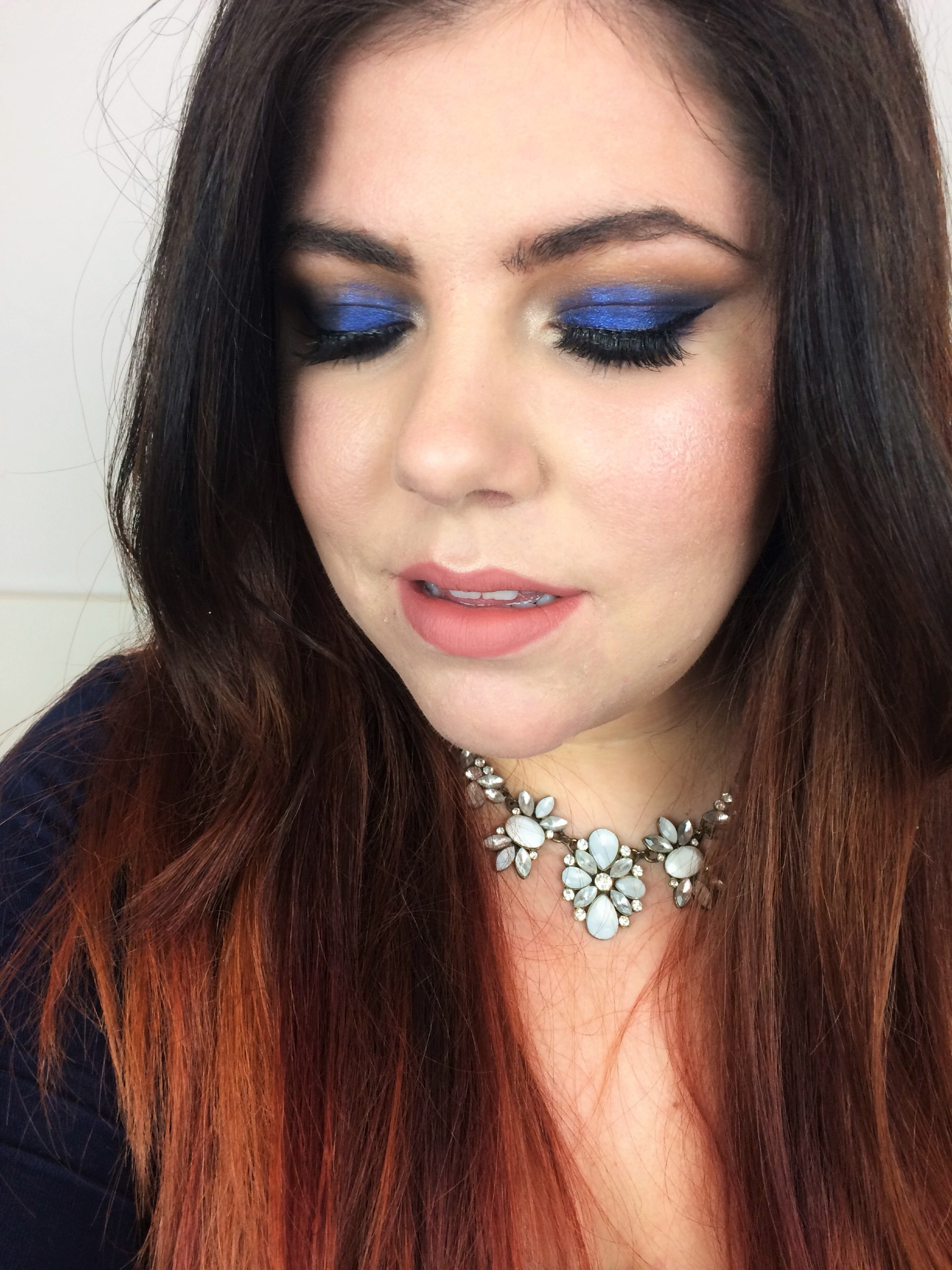 Blue Smokey Eyes Kim Kardashian Inspired [Click to read more]