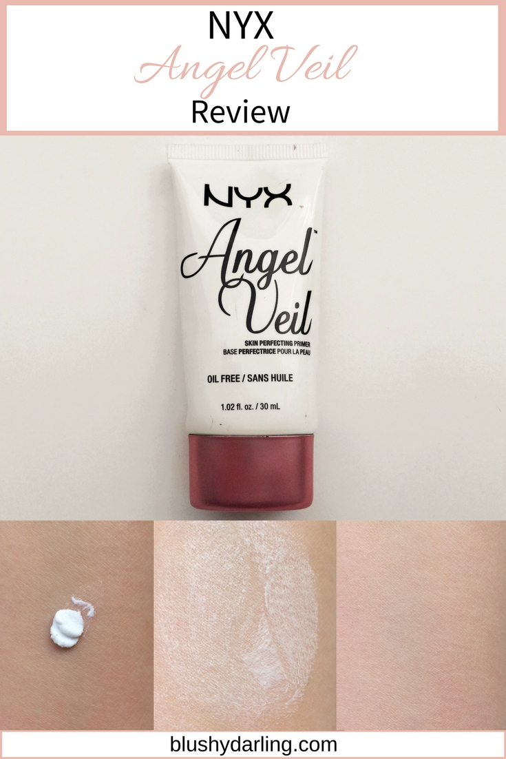 NYX Angel Veil Primer Review and Swatches