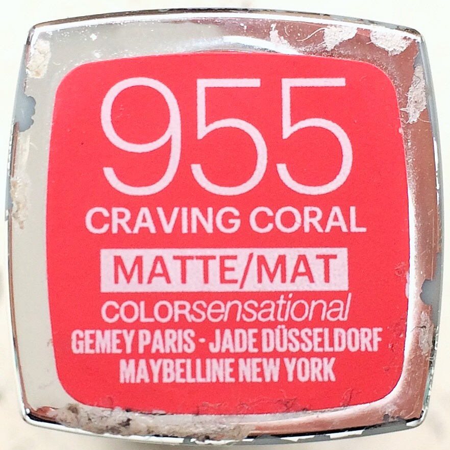Maybelline Colour Sensational Matte Craving Coral (1)