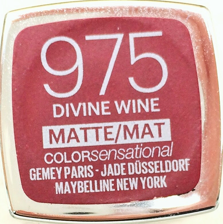 Maybelline Colour Sensational Matte Divine Wine (2)