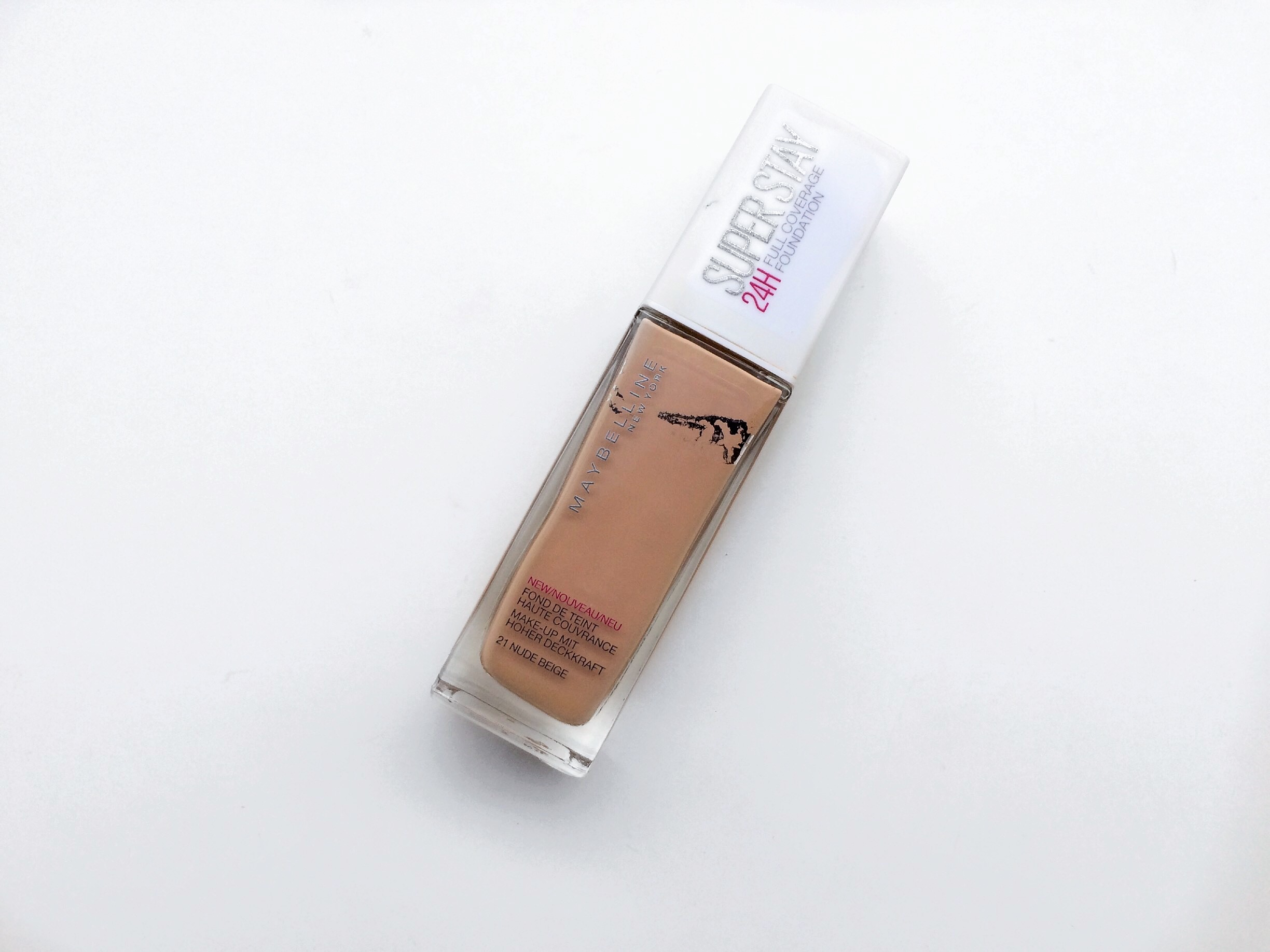 Maybelline Super Stay 24h Foundation | Review