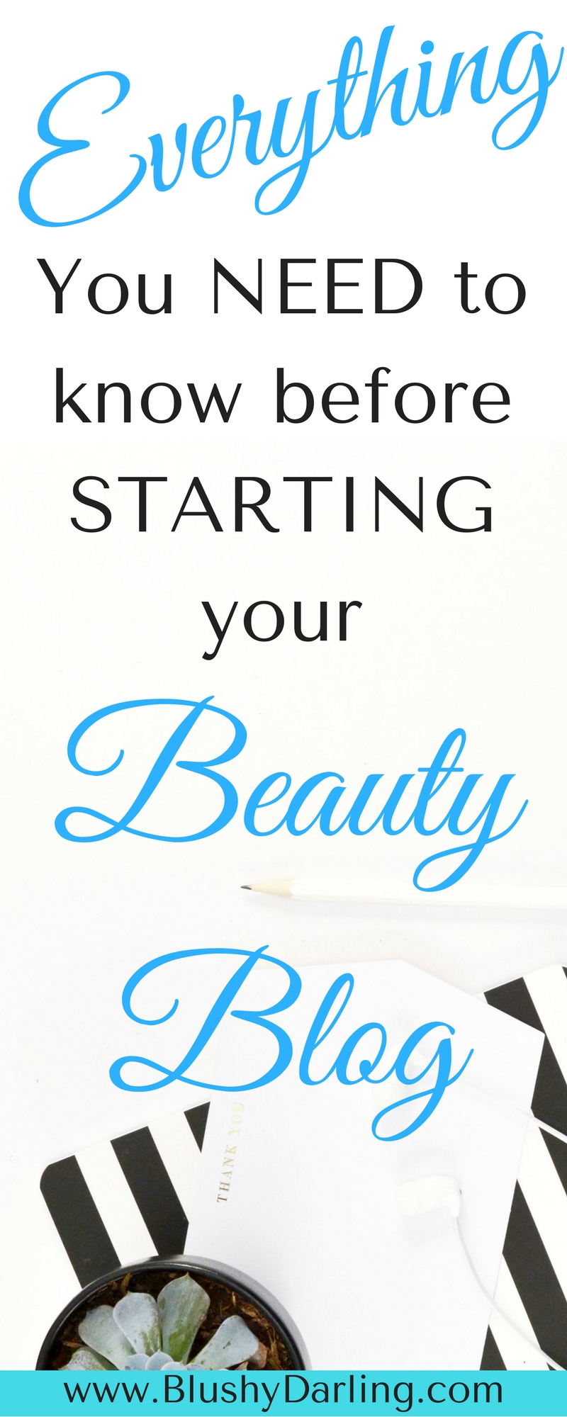 Planning of starting a beauty blog? Here's everything you need to know before starting a blog