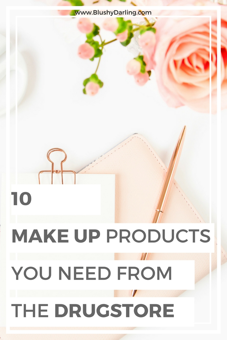 I will tell ten products from the drugstore that perform like high end but won't break the bank. This are the makeup products you need in your makeup collection