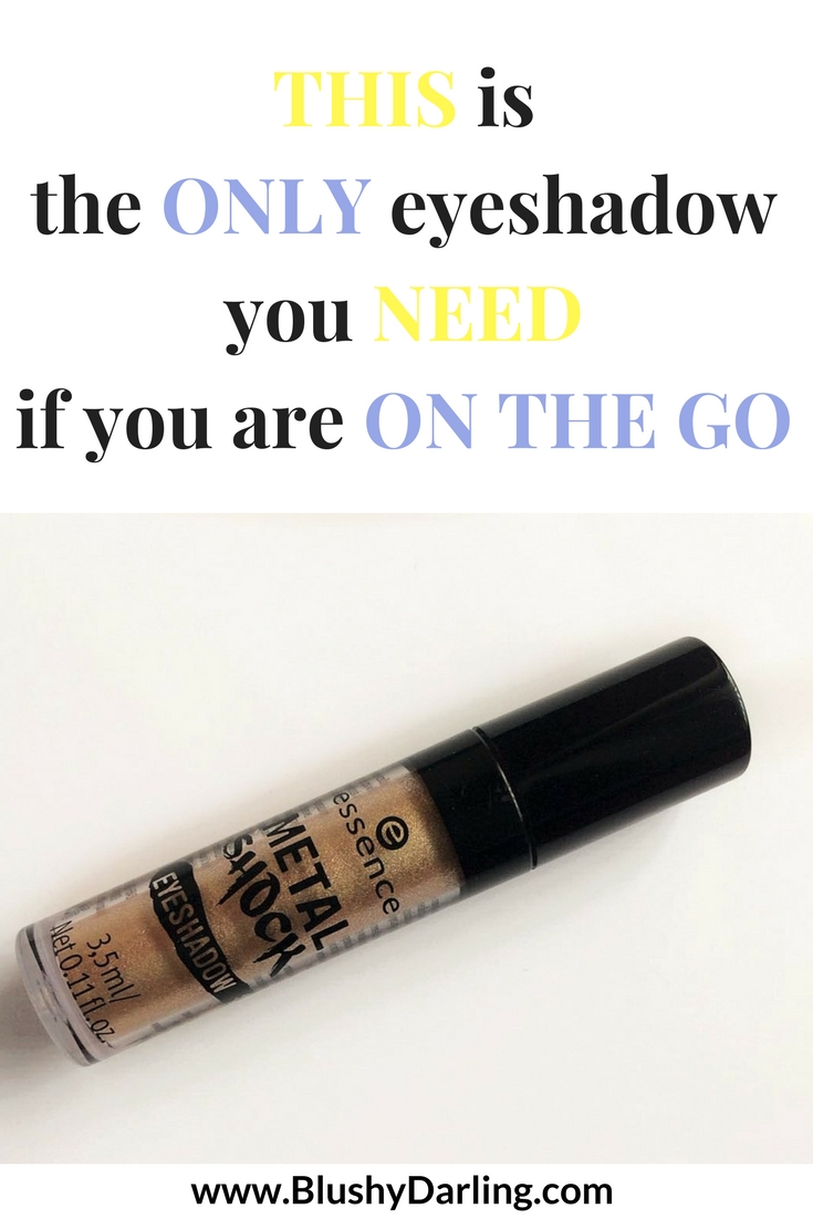 Let me tell you the only eyeshadow you NEED if you are a busy person. Quick and Easy makeup for mums and students on the go. And on the plus side it's only 3$ #beauty #makeup #onthego #review #drugstore