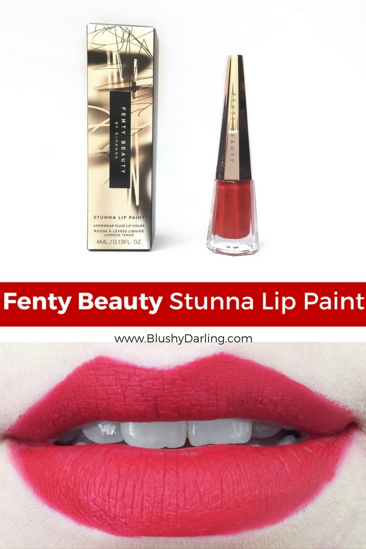 Fenty Stunna Lip Paint Review #beauty #makeup #review