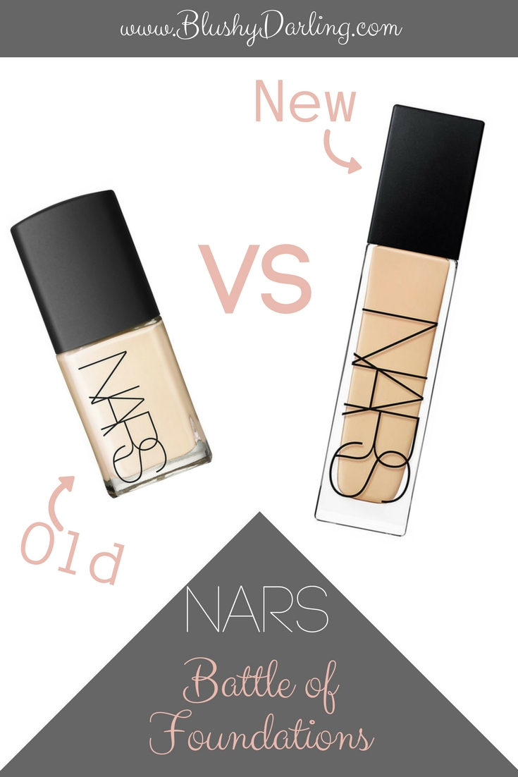 Nars Battle Of Foundations: what's better? The Old Sheer Glow or the New Natural Radiant Foundation? Sharing Pro and Cons and a full review