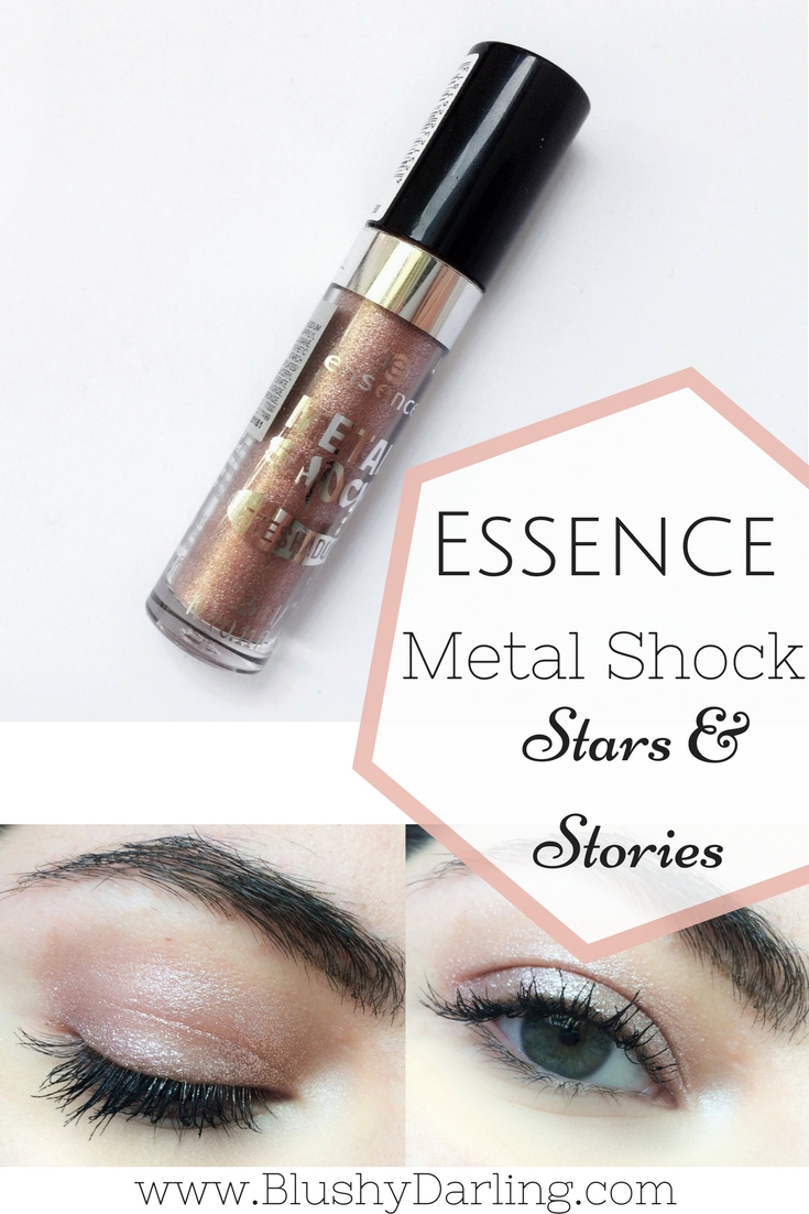 Essence Metal Shock Eyeshadow in Stars & Stories Review! Is this a Dupe for the Stila Magnificent Metals? #makeup #beauty #dupe