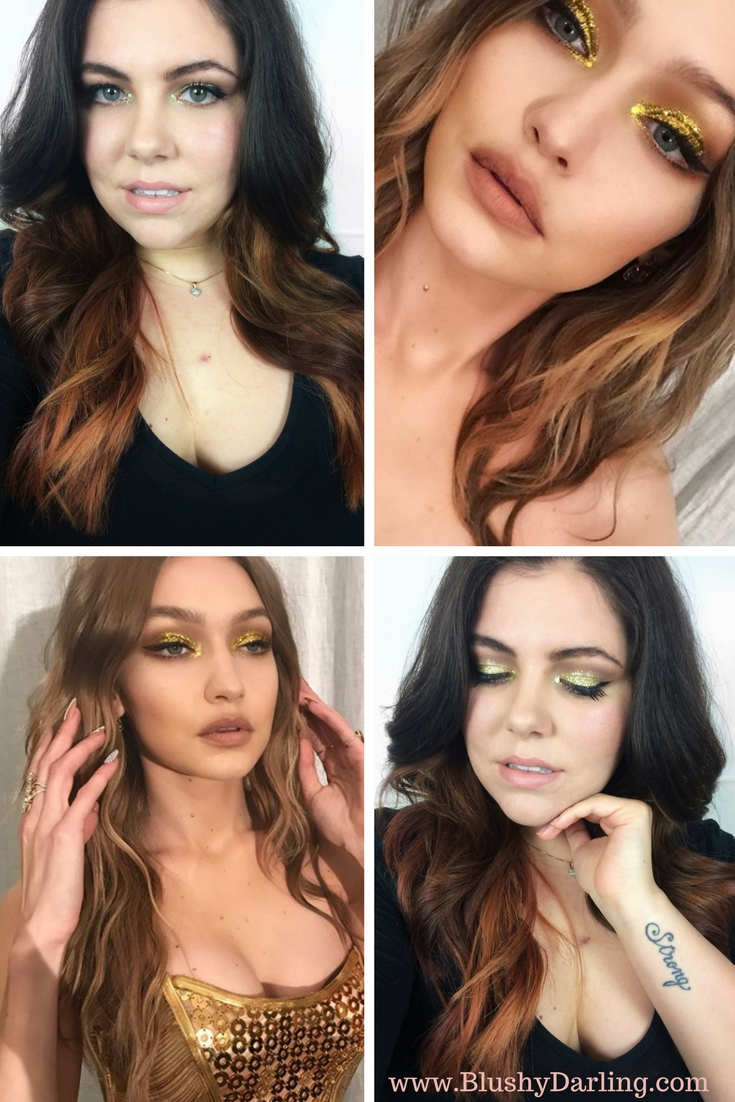 Gigi Hadid Birthday Makeup