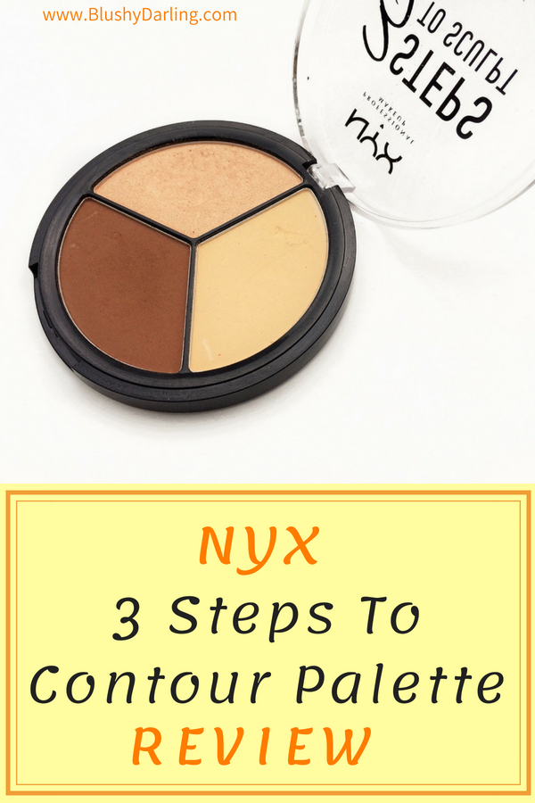 NYX 3 Steps To Sculpt Palette Review #makeup #drugstore #beauty #review