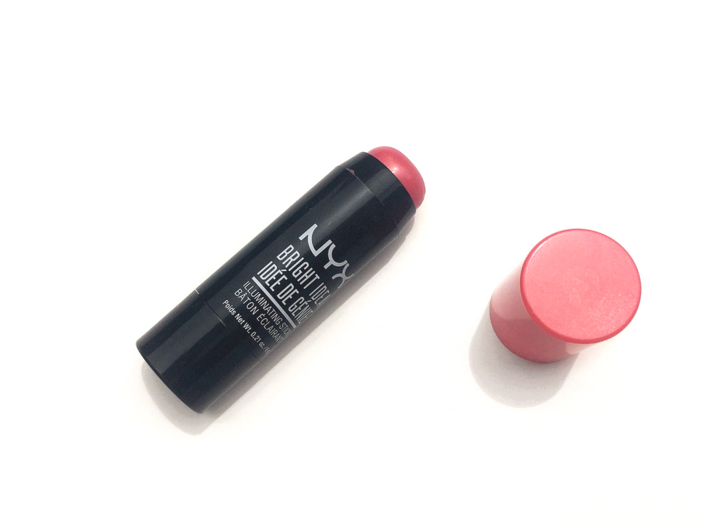 NYX Rose Petal Pop Bright Idea Illuminating Stick Review (2)