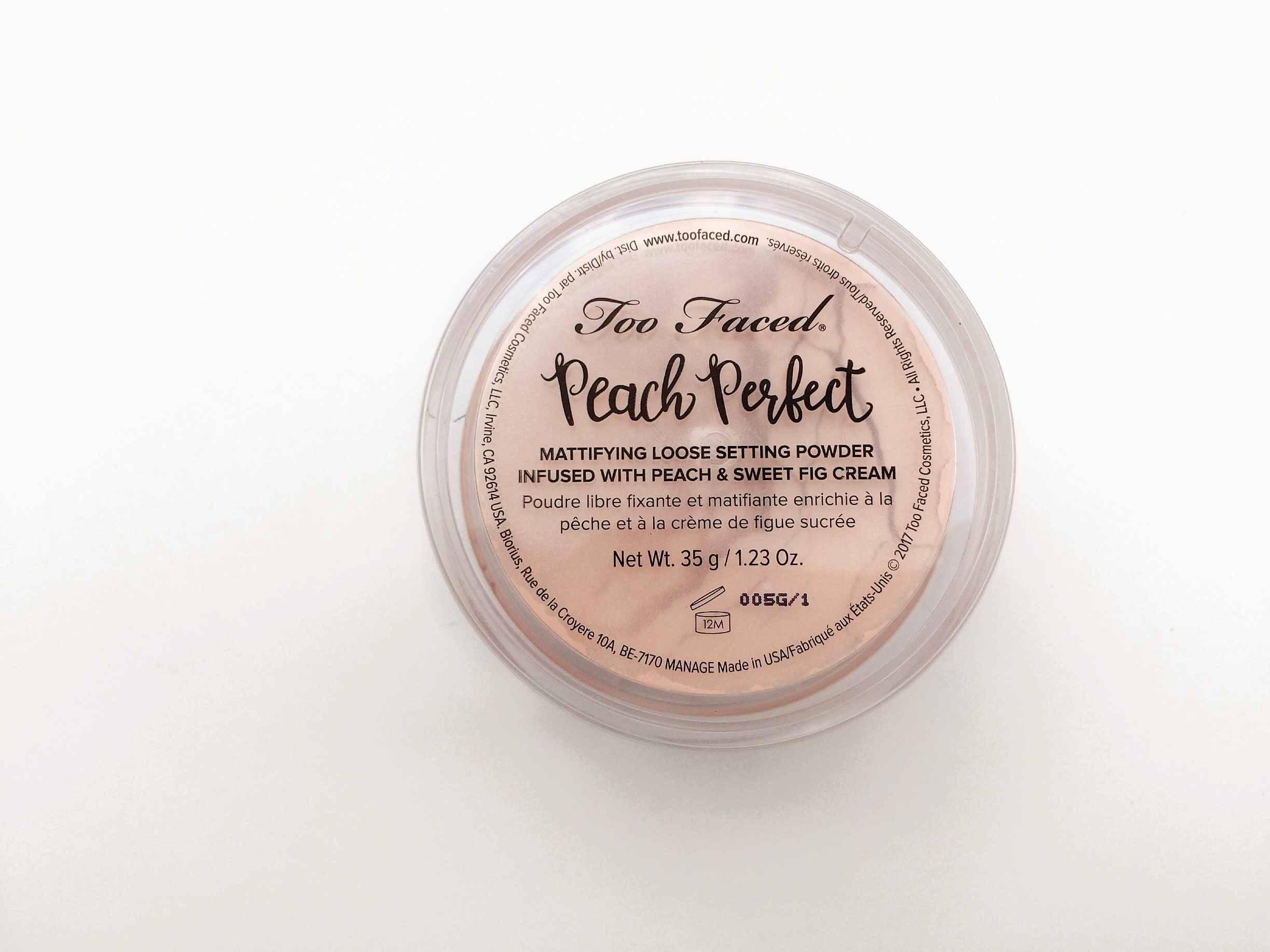 Too Faced Peach Perfect Mattifying Setting Powder (3)