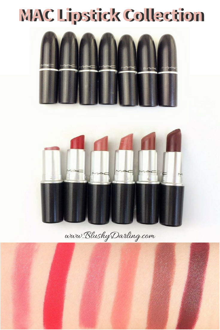 Here's my collection of MAC Lipsticks