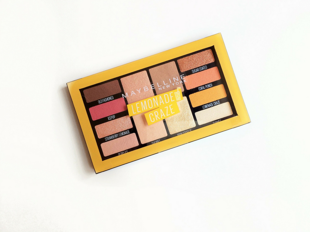 Maybelline Lemonade Craze Palette | Review