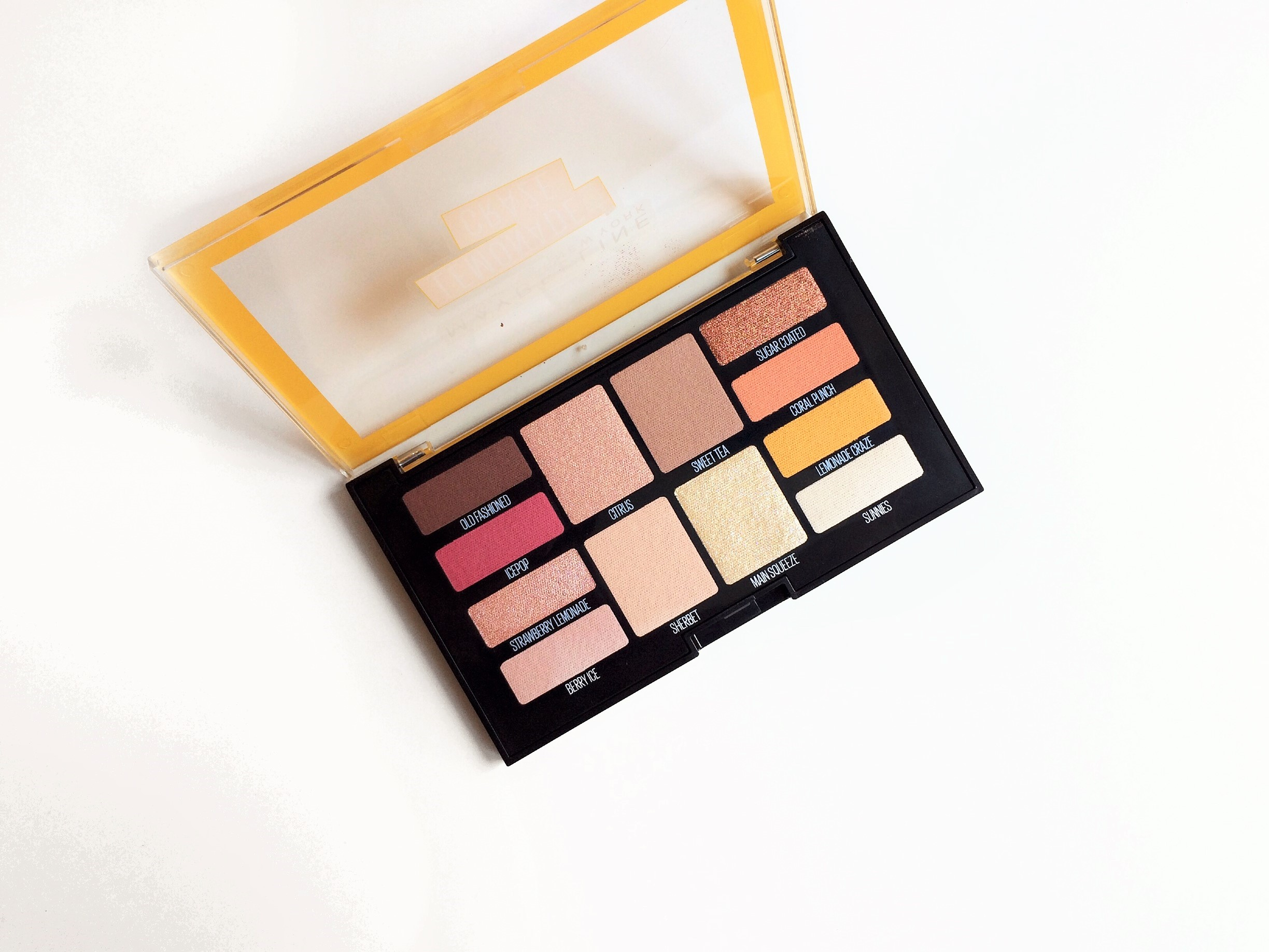 Maybelline Lemonade Craze Palette Review (3)