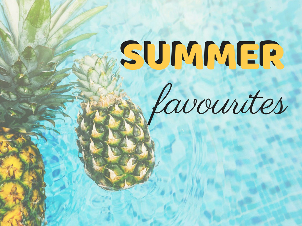 Summer Favorites | Make Up, Skincare, Hair
