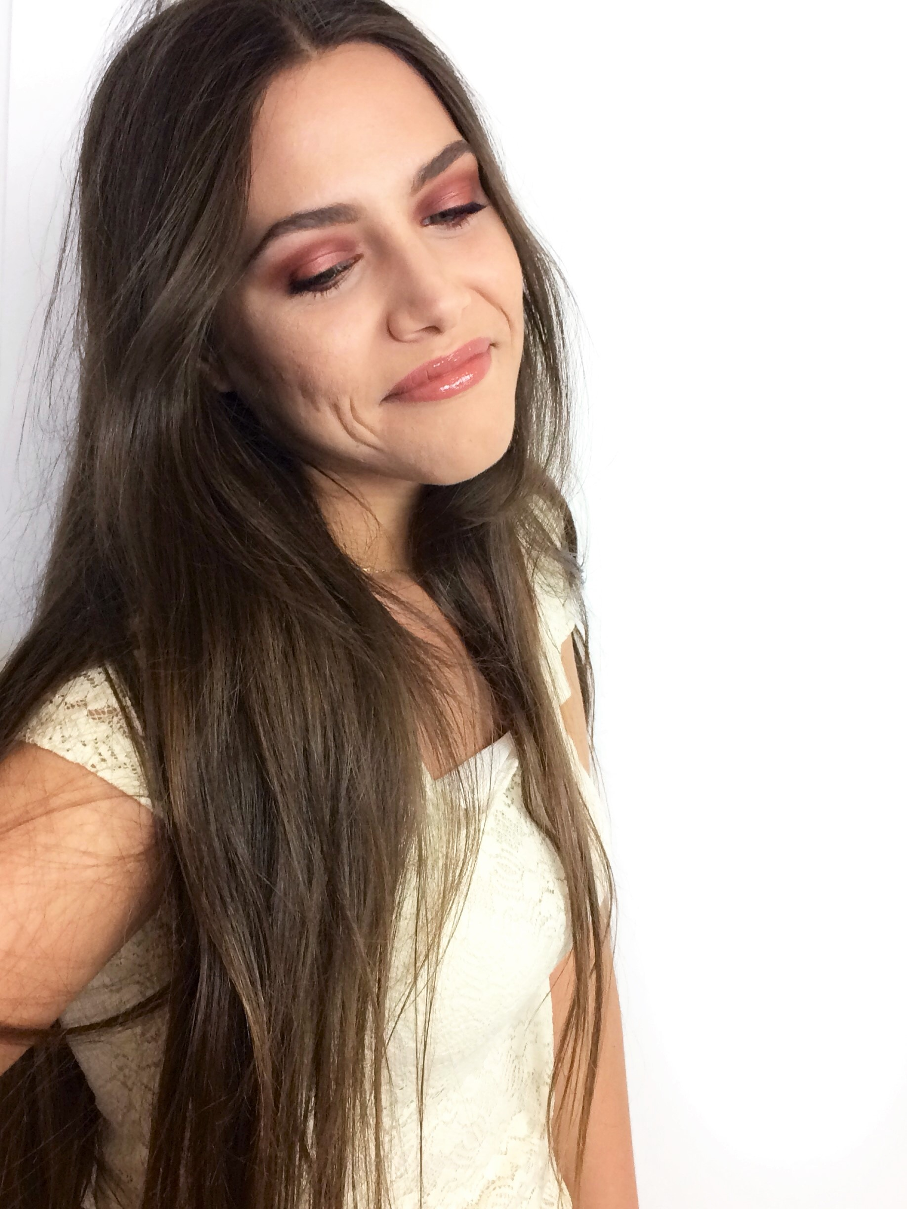 Sunset Red Halo Smokey Eye (2)