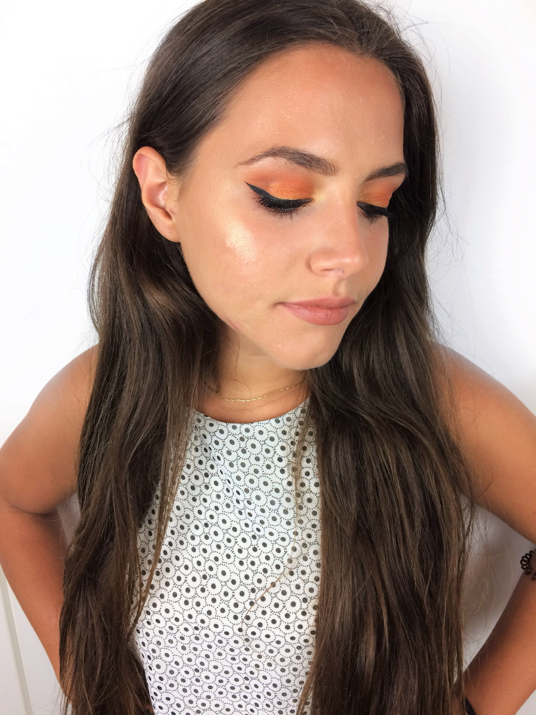 Queen's Birthday Makeup 2018 Orange Smokey Eye (6)