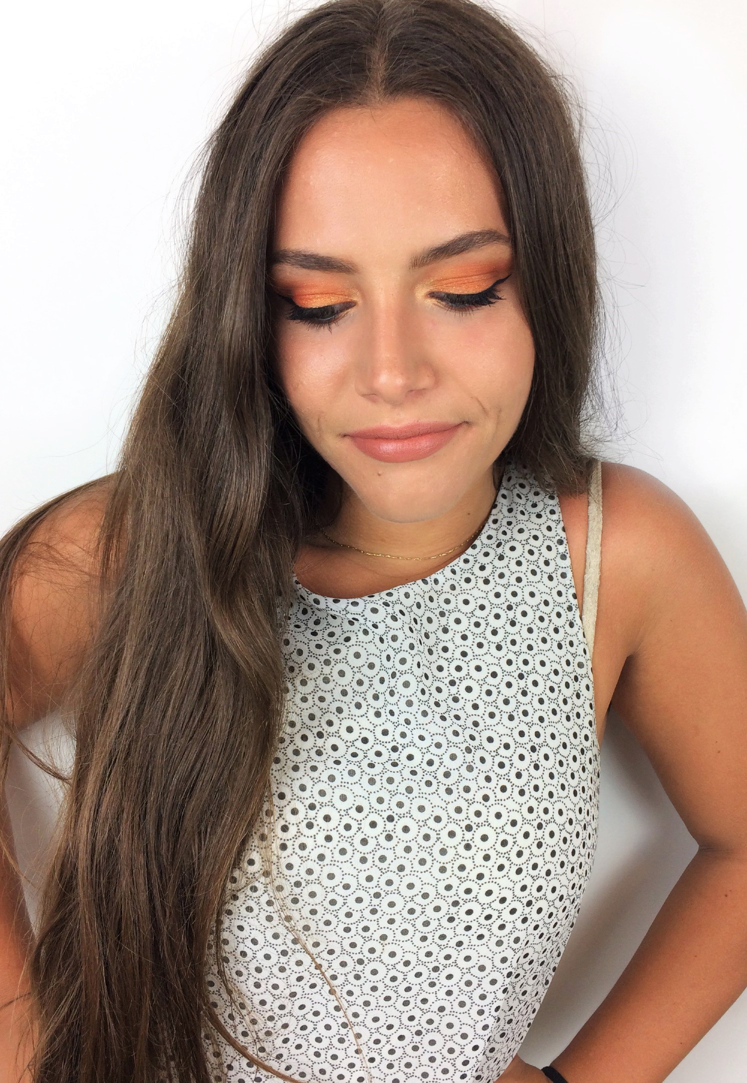Queen's Birthday Makeup 2018 Orange Smokey Eye (9)