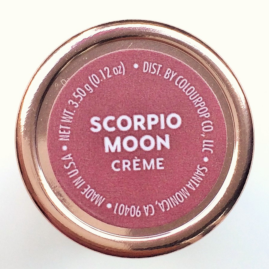 Review ColourPop Scorpio Moon Lux Lipstick (5)