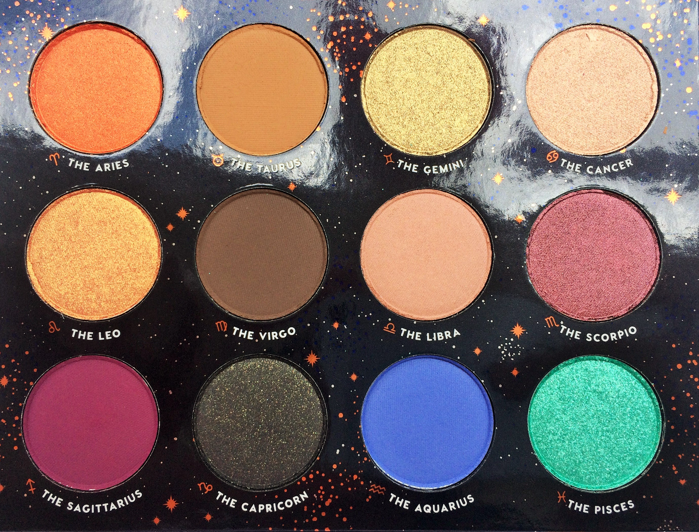 Review ColourPop The Zodiac Palette (2)