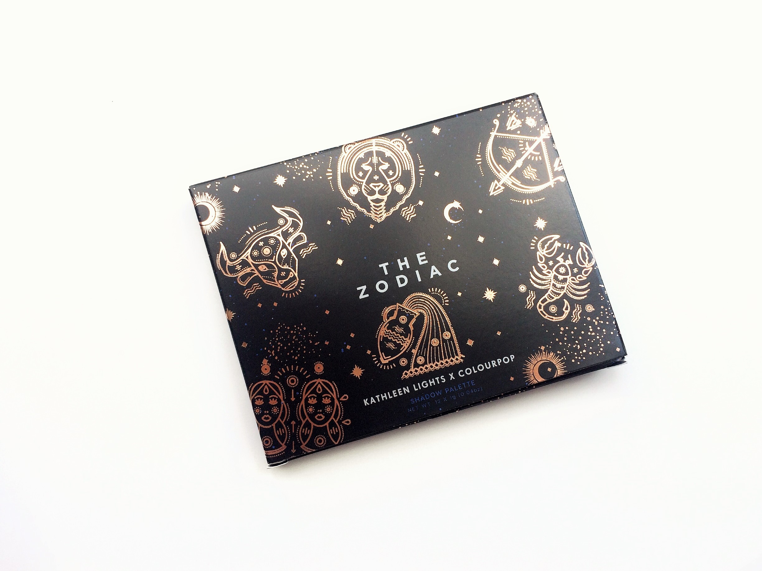 Review ColourPop The Zodiac Palette (1)