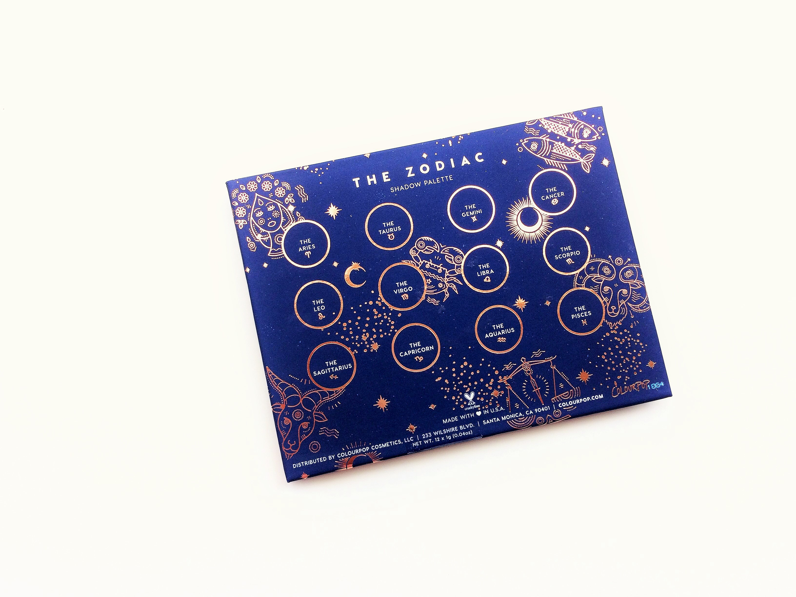 Review ColourPop The Zodiac Palette (5)