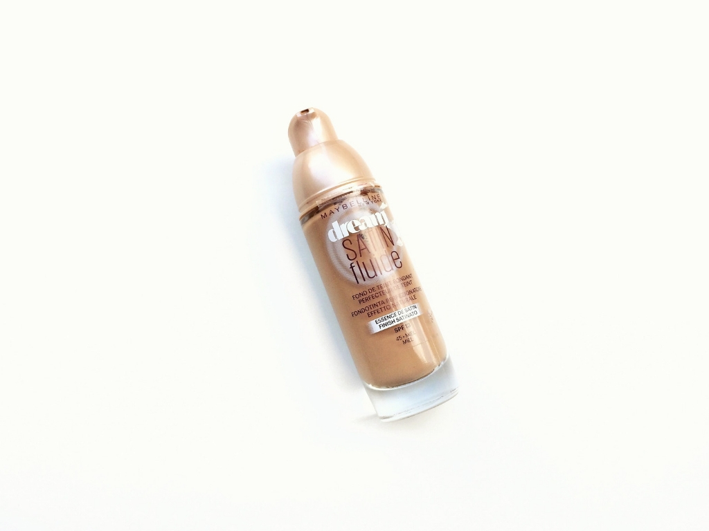 Maybelline Dream Satin Fluide Foundation | Review