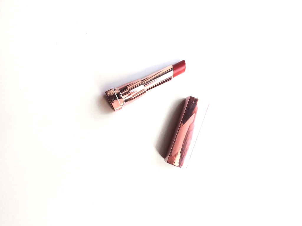 Maybelline Secret Blush (70) Shine Compulsion Lipstick | Review