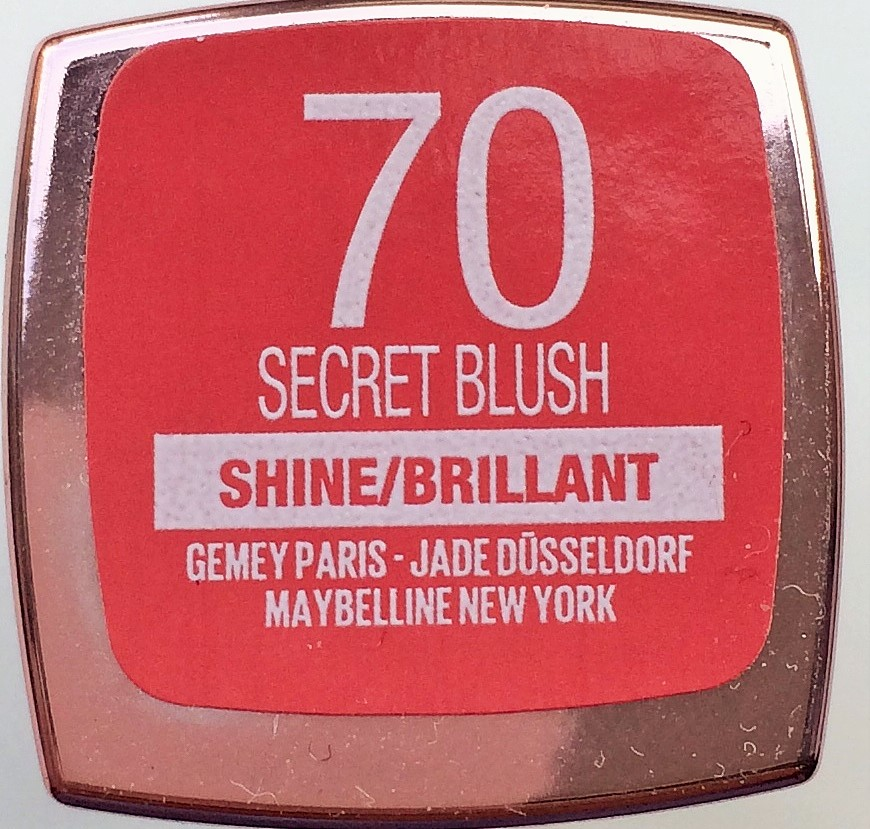 Review Maybelline Secret Blush (73) Shine Compulsion Lipstick
