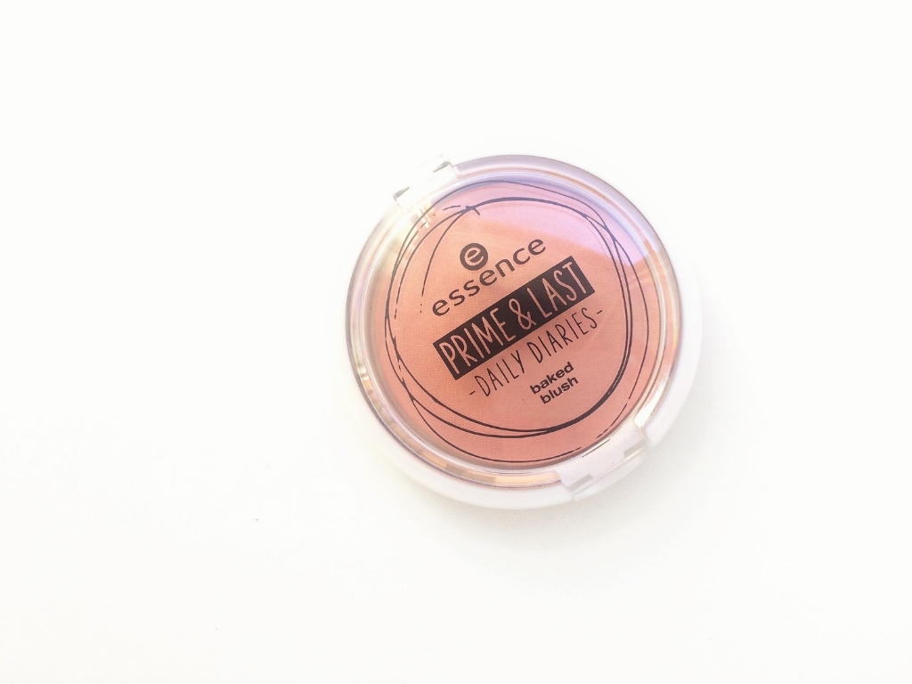 Essence Prime & Last Daily Diaries (01) You Make Me Blush Baked Blush | Review