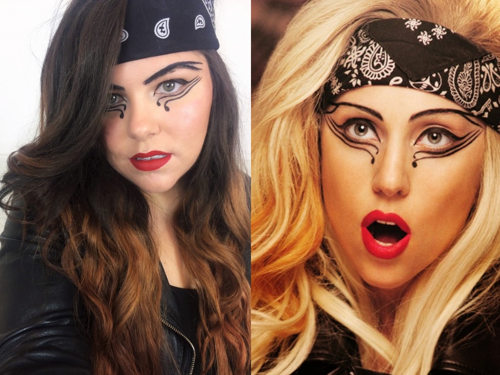 Halloween | Lady Gaga Judas #MakeupMonday