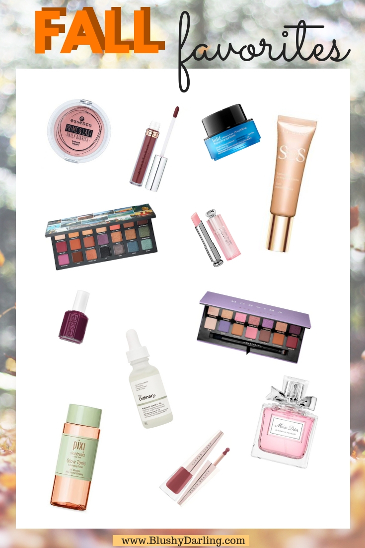 Everything you'll need this fall from beauty to skincare to hair and nails