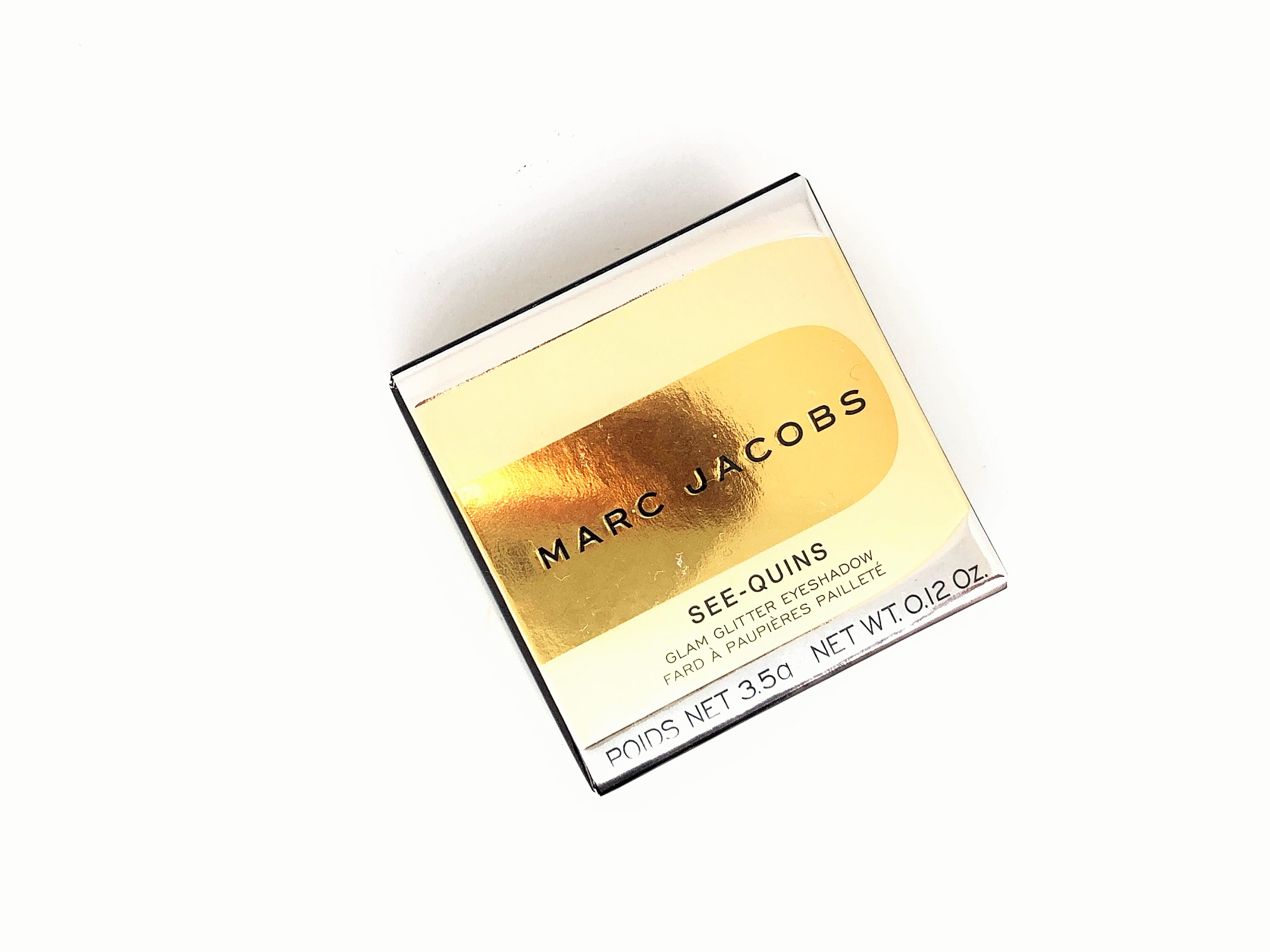Review Marc Jacobs Copperazzi See-Quins Glam Glitter Eyeshadow (1)
