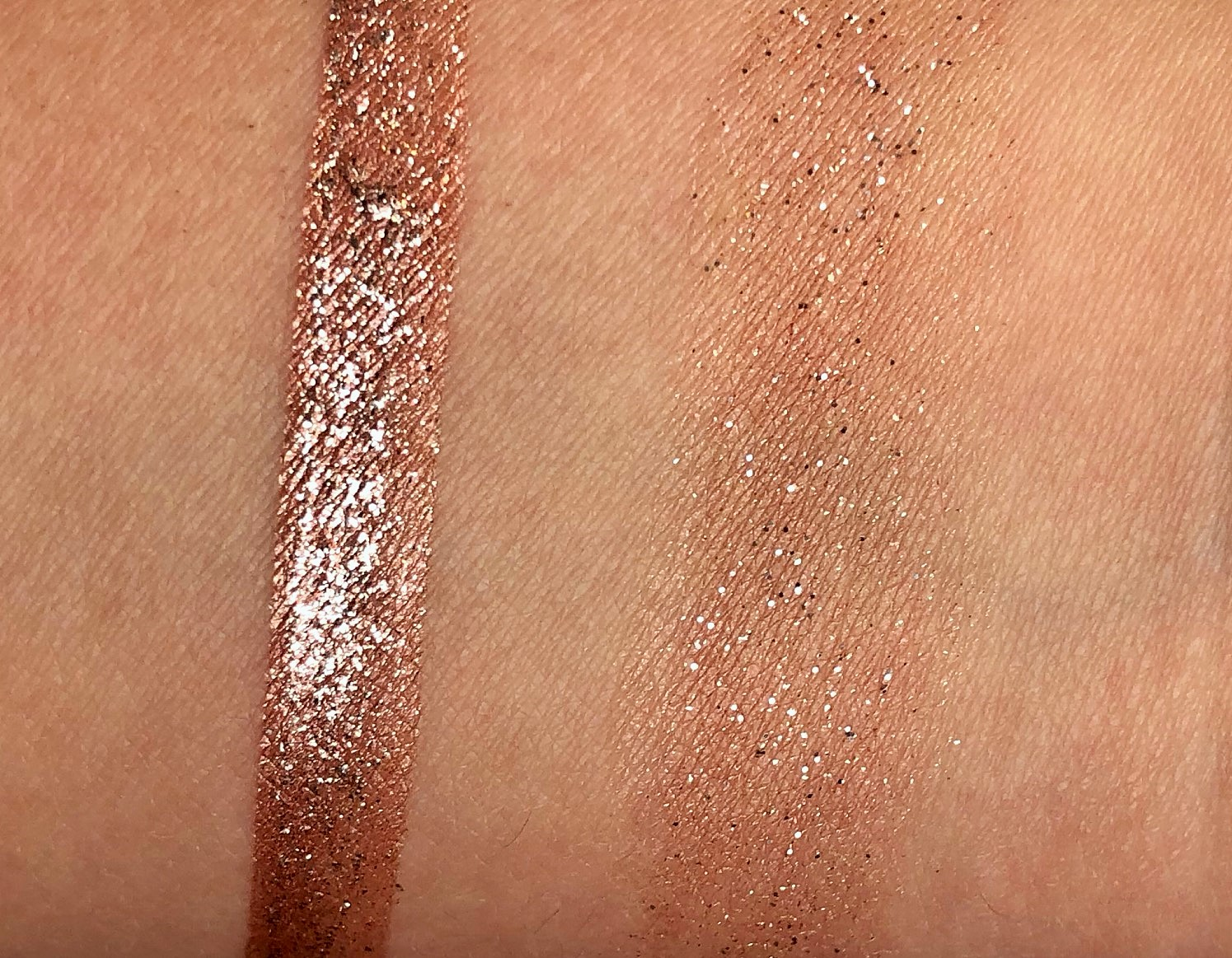 Stila Glitter & Glow Liquid Eyeshadow Review Magnificent Metals (7)
