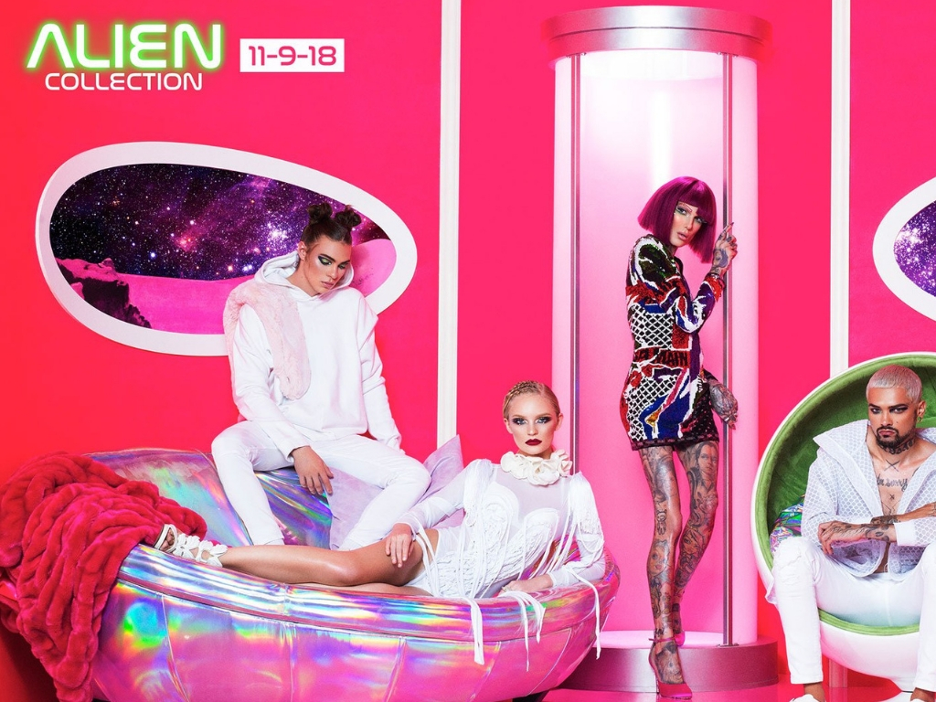 NEW | Jeffree Star Cosmetics Alien Collection