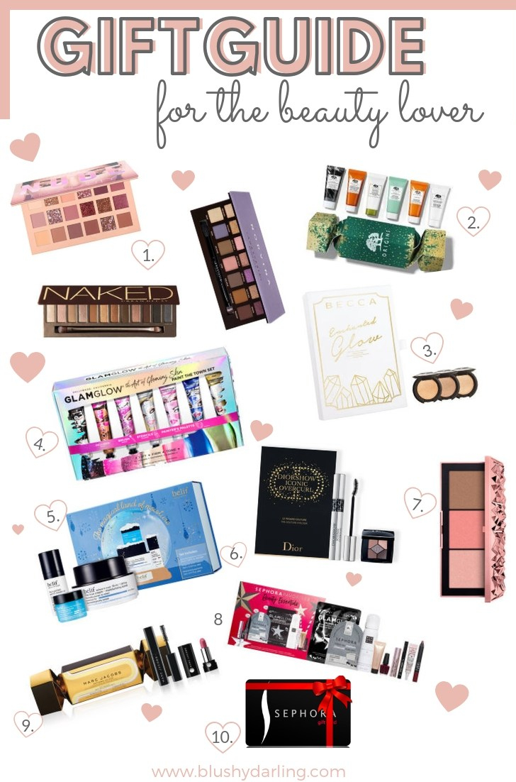 A beauty lover tells you what a beauty lover wants for Christmas! Beauty giftguide under 50$!
