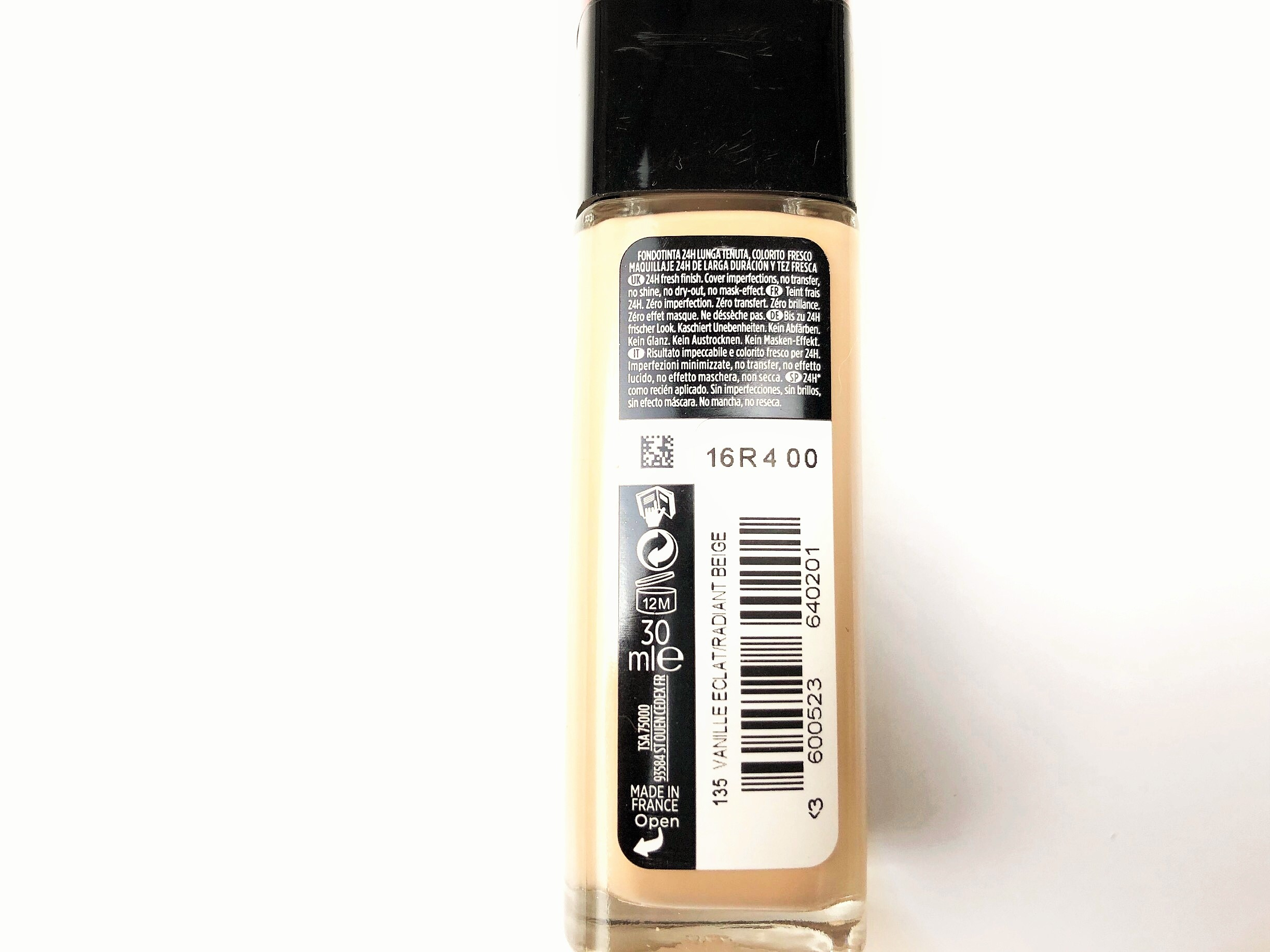 Review L'Oréal Infaillible 24H Fresh Wear Foundation (2)