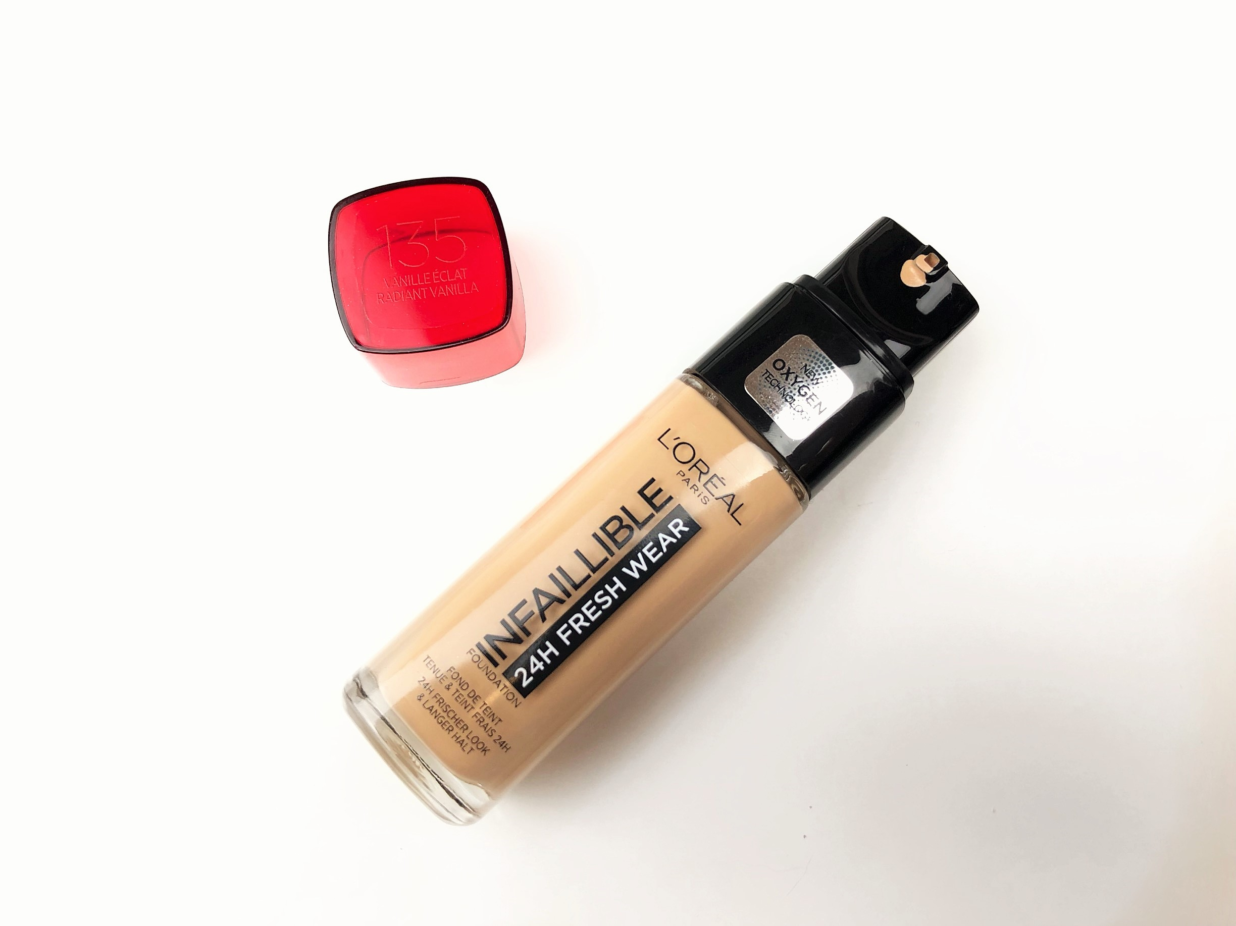 Review L'Oréal Infaillible 24H Fresh Wear Foundation (4)