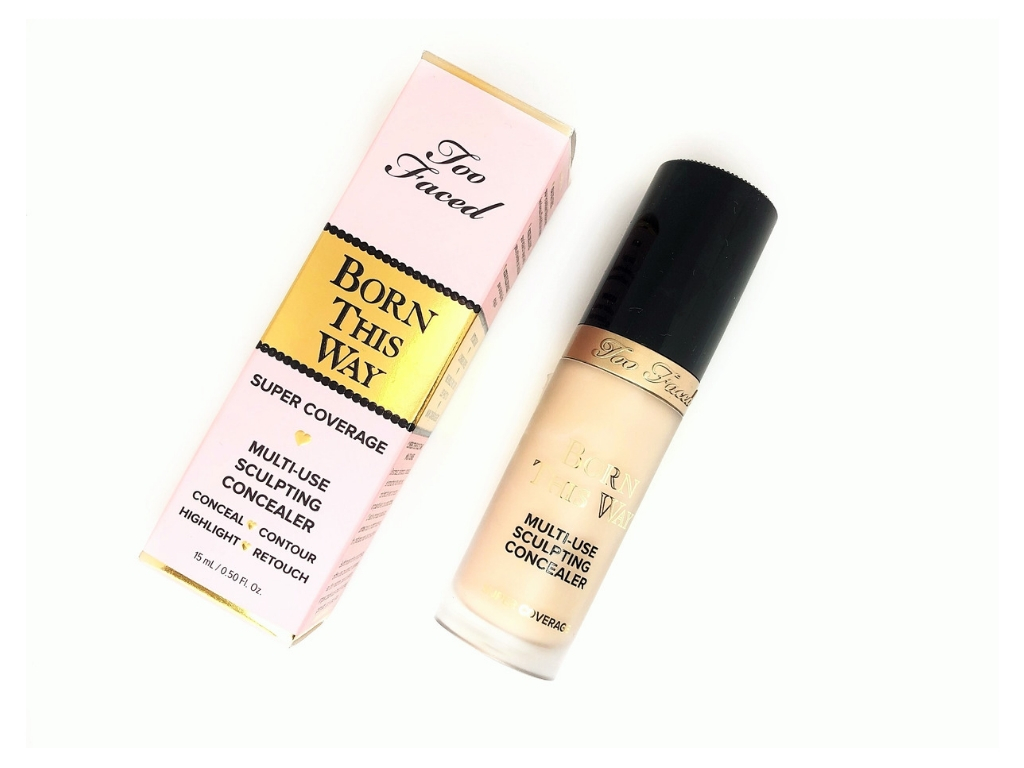 Review Too Faced Born This Way Multi-Use Sculpting Concealer (1)